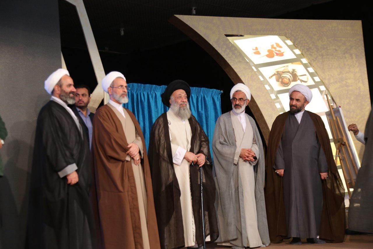 تجلیل از آیت الله موسوی جزایری با حضور رییس حوزه علمیه کل کشور