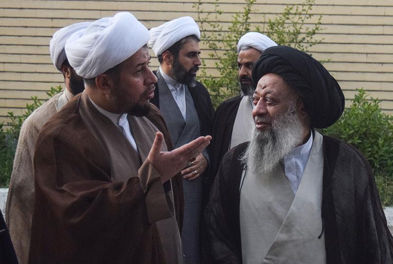 دیدار حجت الاسلام والمسلمین حاجعلیاکبری رئیس شورای سیاستگذاری ائمه جمعه کشور  با آیت الله موسوی جزایری
