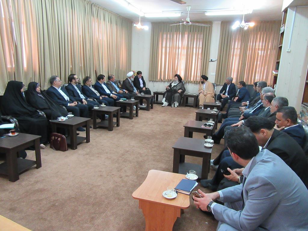 بیانات در دیدار رئیس دانشگاه فرهنگیان وهیئت همراه