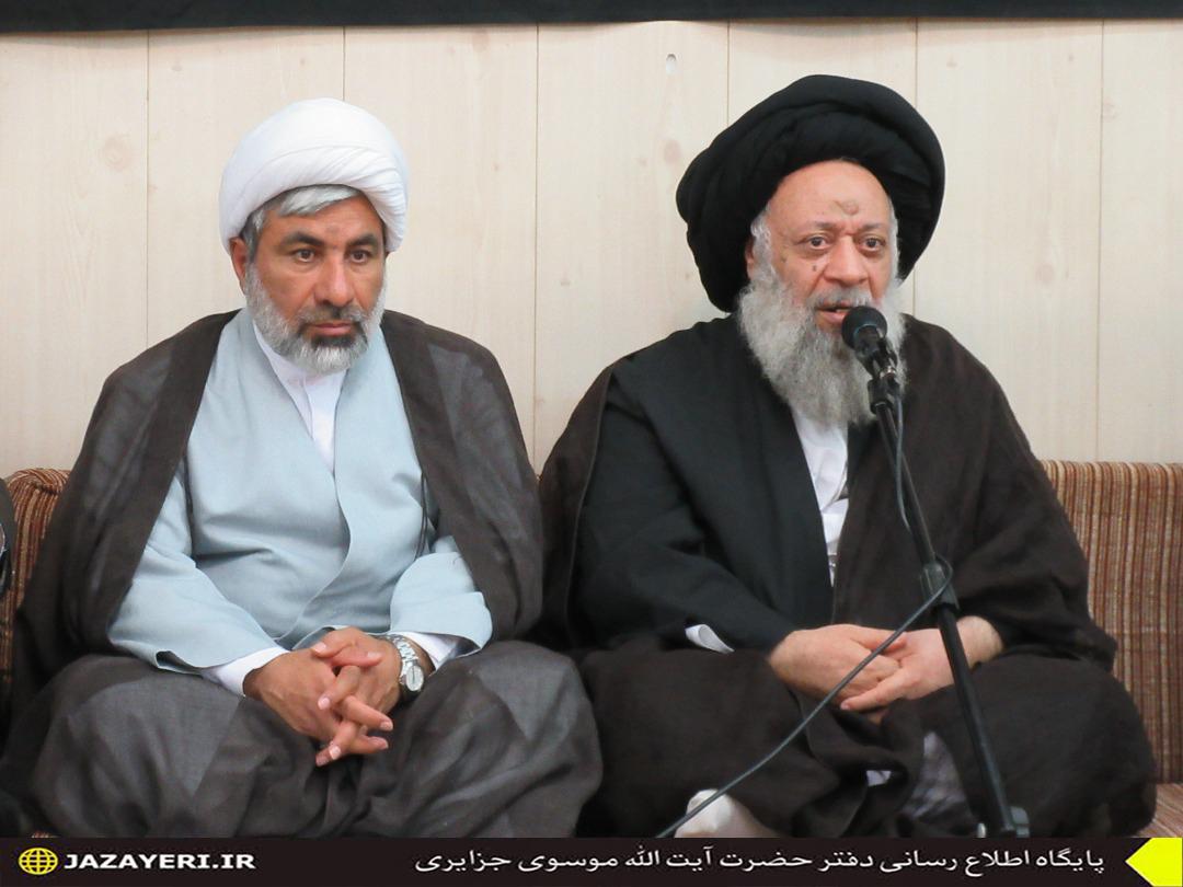 دیدار مدیران ، اساتید و مسئولین دانشگاه آزاد با حضرت آیت الله موسوی جزایری