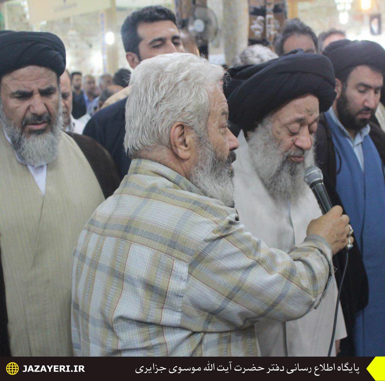 بیانات در تشییع پیکر سرهنگ سیدجبار موسوی