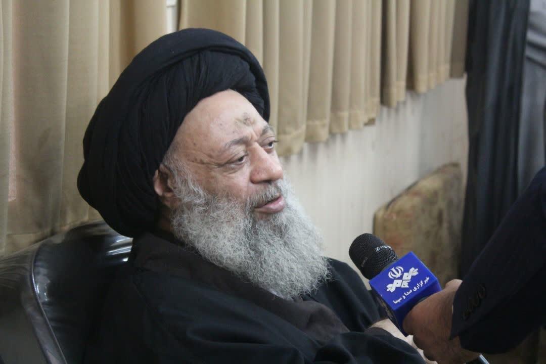 آیت الله موسوی جزایری صبح امروز در مصاحبه با صدا و سیما: